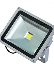 cheap -1pc 30W LED Floodlight Waterproof Decorative Outdoor Lighting Warm White Cold White AC85V-265V