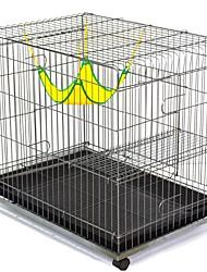 Gatos Bandeja Gaiolas Casinhas Animais de Estimação Delineadores Sólido Dobrável Durável Flexível Prata Para animais de estimação