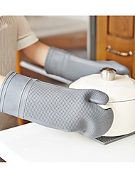 Недорогие -Кухонные принадлежности силикагель Портативные Пот Держатель и духовки 1шт