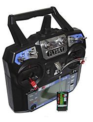 baratos -FS-i6 1conjunto Controles remotos Transmissor / Controlador remoto drones drones Plásticos