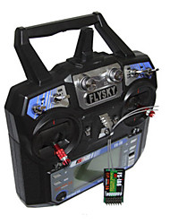 abordables -FS-i6 1 juego Controles remotos Transmisor / controlador remoto aviones no tripulados aviones no tripulados Plásticos