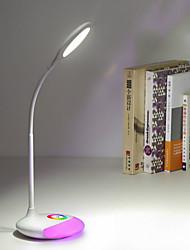 Недорогие -1шт LED Night Light 7 Изменение цвета Встроенная литий-батарея USB слот Перезаряжаемый Диммируемая Сенсорный датчик Украшение С портом USB