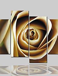 Недорогие -Холст для печати Классика Modern, 4 панели холст Горизонтальная С картинкой Декор стены Украшение дома