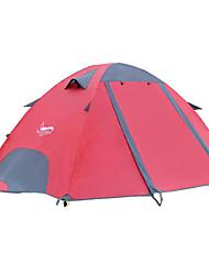 abordables -DesertFox® 2 personne Tente Double Tente de camping Extérieur Tente pliable Etanche pour Camping 2000-3000 mm Oxford