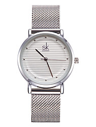 cheap -SK Women's Quartz Bracelet Watch Chinese Water Resistant / Water Proof Shock Resistant Metal Alloy Band Charm Luxury Vintage Dot Casual