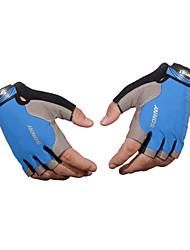 billige -Half-finger Unisex Motorcykel handsker Denim stof Åndbarhed / Påførelig / Anti-Skrid