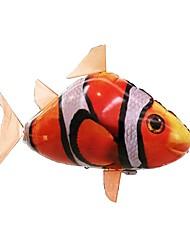 Недорогие -Акула на пульте Животное на пульте управления Летающая акула Клоун Фиш Надувной Реалистичное движение Воздушный пловец 1 pcs Мальчики Девочки Игрушки Подарок