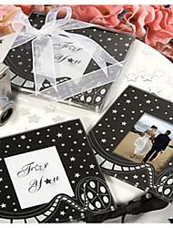 Недорогие -Стекло Лолита Сувенирные подставки под чашку - 1 Пьеса / Установить Семья Свадьба