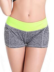 economico -Pantaloni da yoga Pantaloncini /Cosciali Shorts Intimo/Sottopantaloncini Pantaloni Traspirante Asciugatura rapida Compressione Naturale