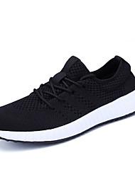 Muškarci Cipele Prozračan Mesh Proljeće Jesen Udobne cipele Atletičarke tenisice Hodanje za Atletski Crn Dark Blue