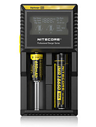 abordables -Nitecore D2 Chargeur de batterie Protection Contre les Surcharges Protection contre les Court-Circuit Protection contre les Inversions de