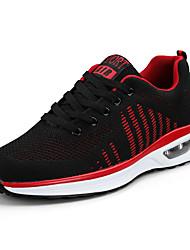 cheap -Men's Shoes PU Leatherette Tulle Spring Light Soles Comfort Athletic Shoes Walking Shoes Cycling Shoes Hiking Shoes Running Shoes for