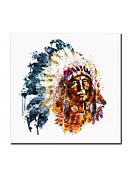 baratos -Laminado Impressão De Canvas Modern, 1 Painel Tela de pintura Quadrada Pintura a Óleo Decoração de Parede Decoração para casa