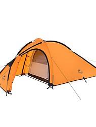 economico -Naturehike 3-4 persone Doppio Tenda da campeggio Una camera Tende a igloo e canadesi Asciugatura rapida Antivento Anti-pioggia per