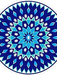 Недорогие -Свежий стиль Пляжное полотенце, геометрический Высшее качество Полиэстер/Хлопок Плетение гладью Полотенце
