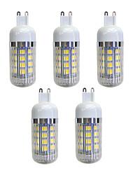 preiswerte -5 Stück 4.5W 380 lm G9 36 Leds SMD 5050 LED-Lampe Warmes Weiß Wechselstrom 220-240V