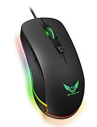 abordables -S500 Câblé Gaming Mouse DPI réglable Rétro-éclairé Programmable 1200/1600/2400/3200/4800