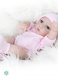 cheap -NPK DOLL Reborn Doll Baby 12 inch Full Body Silicone Silicone Vinyl - lifelike Hand Applied Eyelashes Tipped and Sealed Nails Kid's Girls' Toy Gift / CE Certified / Natural Skin Tone / Floppy Head
