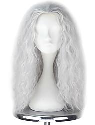 economico -Parrucche lolita Lolita Argento Principessa Parrucche Lolita 55cm CM Parrucche Cosplay Halloween Parrucche Per