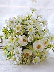 economico -Bouquet sposa Bouquet Matrimonio Gros grain 30 cm ca.
