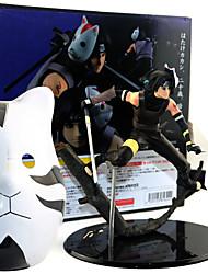 economico -Figure Anime Azione Ispirato da Naruto Uchiha Sarada PVC 22 cm CM Giocattoli di modello Bambola giocattolo