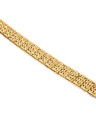 billige -Herre Kæde & Lænkearmbånd - Guldbelagt Mode Armbånd Guld Til Fest Gave