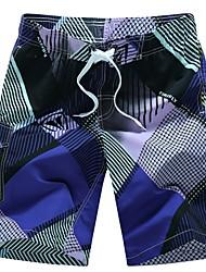 cheap -Men's Straight / Chinos Pants - Striped / Plaid Print / Sports