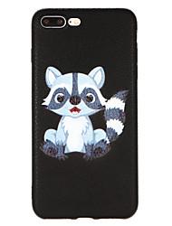 Θήκη Za Apple iPhone X iPhone 8 Uzorak Stražnja maska Životinja Tvrdo PU koža za iPhone X iPhone 8 Plus iPhone 8 iPhone 7 Plus iPhone 7