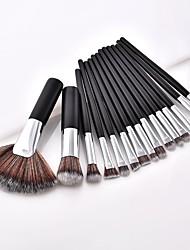 billige -2stk Make-up pensler Professionel Brush Sets Syntetisk Hår / Andre / Nylon Børste Fuld Dækning Bøg Lille Børste
