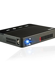 cheap -Factory OEM Y6 DLP Home Theater Projector 350 lm Android 4.4 Support 4K 20-200 inch Screen