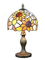 economico -Metallico Decorativo Lampada da tavolo Per Camera da letto Metallo 220V Arancione