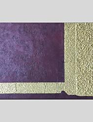baratos -Pintados à mão Abstrato Panorâmico horizontal, Modern Pintura a Óleo Decoração para casa 1 Painel