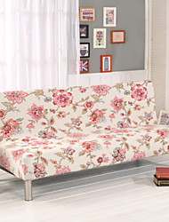 abordables -Moderno Jacquard de Poliéster al 100% Cobertor de Sillón Doble, Simple Floral Impreso Fundas