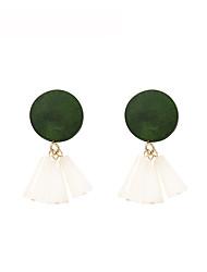 cheap -Women's Drop Earrings - Fashion Brown / Green / Blue For Gift / Daily