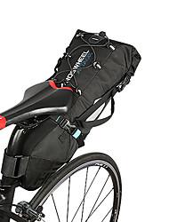 economico -ROSWHEEL Borsa da bici 10L Marsupio triangolare da telaio bici Anti-pioggia Indossabile Strisce riflettenti Marsupio da bici Nylon Borsa