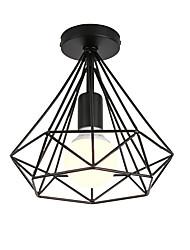 baratos -Sótão do vintage simples mini forma de diamante lâmpada do teto luzes de montagem embutida hall de entrada sala de jogos cozinha luminária