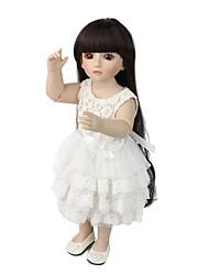 Недорогие -NPK DOLL Куклы реборн Девочки 20 дюймовый Полный силикон для тела Силикон Винил - Ручные прикладные ресницы Гофрированные и запечатанные ногти Головка дискеты Детские Универсальные Игрушки Подарок