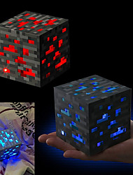 cheap -Minecraft Night light LED Figure Toys Anime & Manga Romance A Grade ABS Plastic Gift 1pcs