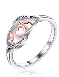 cheap -Women's Knuckle Ring Band Ring , Silver Alloy Heart Classic Fashion Gift Daily Costume Jewelry