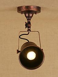 baratos -Artistíco Retro / Vintage Luzes Pingente Luz Descendente - Estilo Mini Proteção para os Olhos, 110-120V 220-240V Lâmpada Incluída