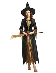 cheap -Witch Outfits Men's Women's All Halloween Carnival Day of the Dead April Fool's Day Masquerade Valentine's Day Birthday New Year