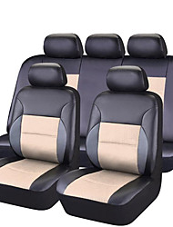 cheap -Car Seat Covers Seat Covers Black / Red / Pink / Black / Blue PVC Business / Common for universal Universal / All years
