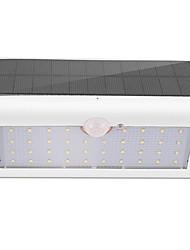 Недорогие -1шт 3 Вт. настенный светильник Работает от солнечной энергии Инфракрасный датчик Водонепроницаемый Управление освещением Декоративная