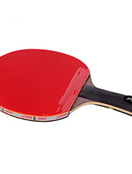 cheap -DHS® Hurricane WANG FL Ping Pang/Table Tennis Rackets Wooden Carbon Fiber Rubber Long Handle Pimples