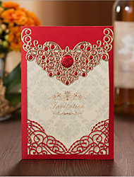 cheap -Wrap & Pocket Wedding Invitations 50pcs - Engagement Party Cards Bridal Shower Cards Baby Shower Cards Mother's Day Cards Invitation