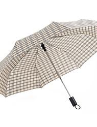 abordables -boy® Tejido Hombre / Mujer Soleado y lluvioso / A prueba de Viento Paraguas de Doblar