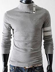 Majica s rukavima Muškarci - Ulični šik Jednobojni