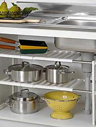 abordables -Organización de cocina Accesorios de Gabinete Plástico Almacenamiento 1 juego