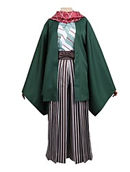 cheap -Inspired by IDOLiSH7 Cosplay Anime Cosplay Costumes Cosplay Suits Other Long Sleeves 1 Bracelet Coat Pants Kimono Coat Scarf For Men's