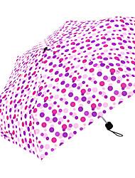 Недорогие -boy® Ткань Жен. Солнечный и дождливой / Ветроустойчивый Складные зонты